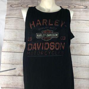 Men's Xl Harley Davidson sleeveless Shirt Colorado